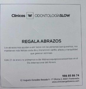 regala abrazos_clinica angel lorenzo pontevedra